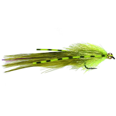 Flexi Olive Damsel Lure (Size 10)