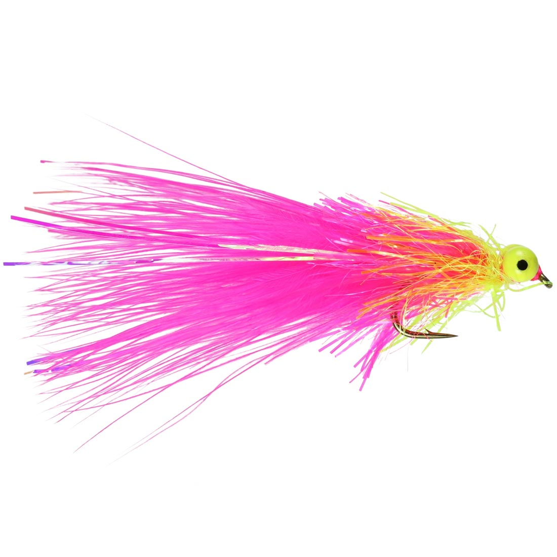 Pink Shaggy Cat Lure (Size 10)