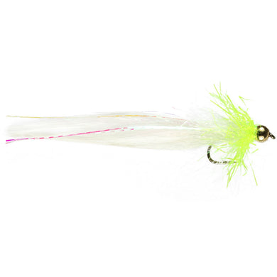 G/B Chartreuse Cats Lure (Size 10)