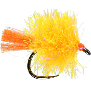 Orange Blob Barbless (Size 10)
