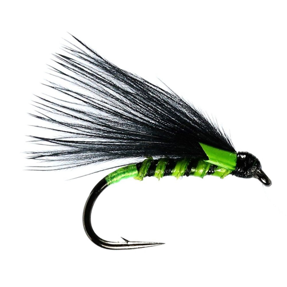 Green Quill Cormorant Mini Lure (Size 10)