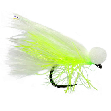 White Cat Booby Barbless (Size 12)