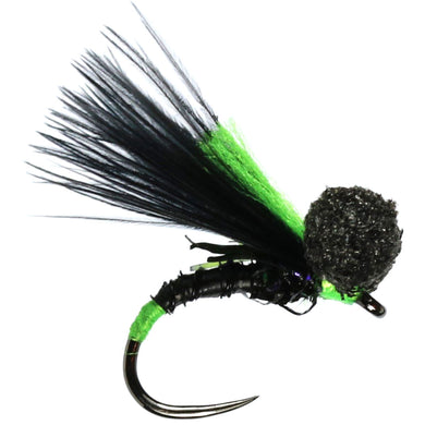 Black Quill Booby Barbless (Size 14)