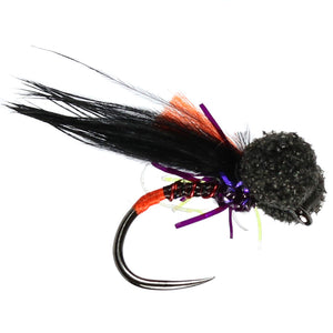 Claret Quill Booby Barbless  (Size 14)