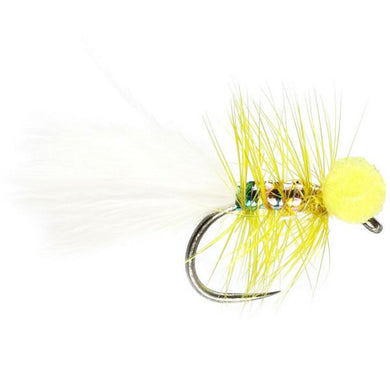 Yellow Dancer Booby Barbless (Size 12)