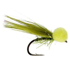 Olive UV Booby (Size 10)