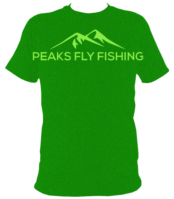 Peaks Fly Fishing T Shirt