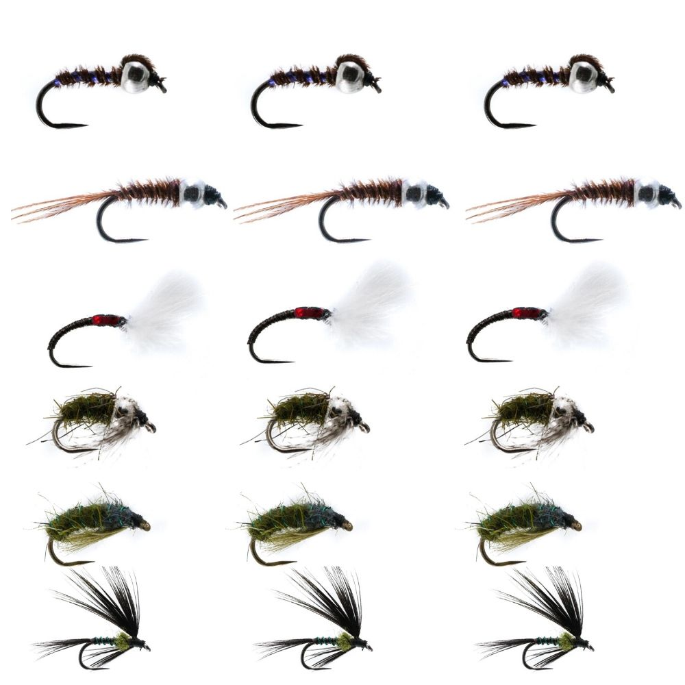 Barbless Wild River Collection - Nymphs & Wets