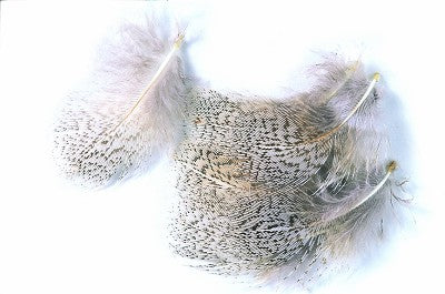 English Partridge Grey Neck Hackles 3g Pack