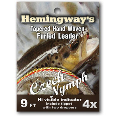Hemingways Czech Nymph 4x Furled Leader