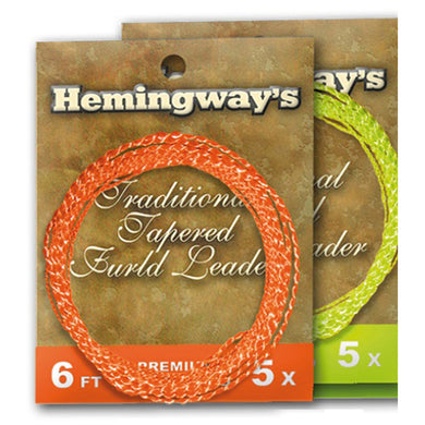 Hemingways Hi-Visible Fluo Yellow 4x Furled Leader