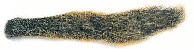 Fox Squirrel Tail Natural