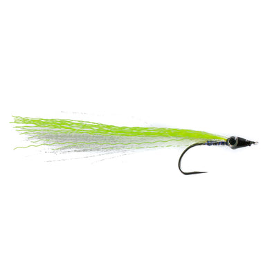 Sand Eel Bootlace Chartreuse Size 6