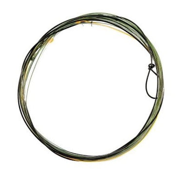KNOTTED FRENCH 'INDICATOR' LEADER - NYMPH/DRY FLY - 12FT 6INS 0.55MM TO 0.15MM 4.1LB — £4.99