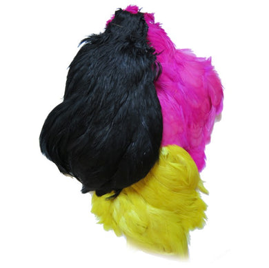 Turral Black Indian Hen Neck