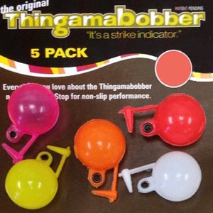 Thingamabobber strike indicator 1/2 inch (5 pack different colours)