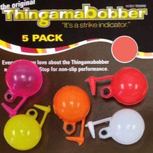 Thingamabobber strike indicator 3/4 inch (5 pack different colours)