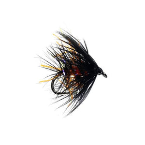 Bibio & Orange Hackled Wet Fly (Size 12)
