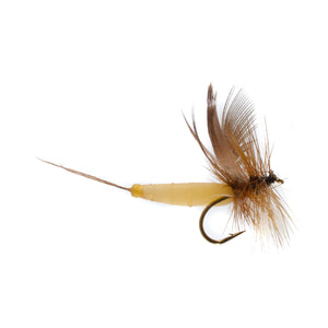 Detached Mayfly Brown Drake (Size 12)