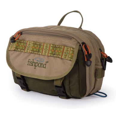 FISHPOND BLUE RIVER CHEST/LUMBAR PACK - KHAKI SAGE