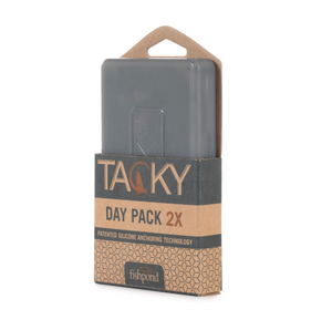 TACKY DAY PACK FLY BOX DOUBLE SIDED