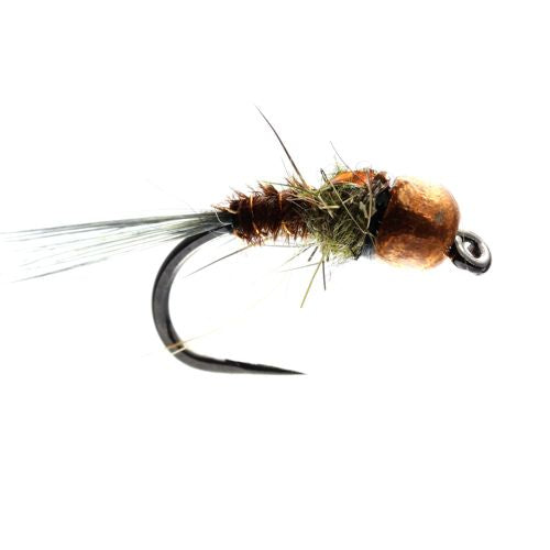 Copper Flashback Barbless Nymph (Size 12)