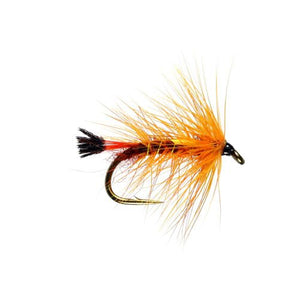 Copper Top Hackled Wet Fly (Size 12)