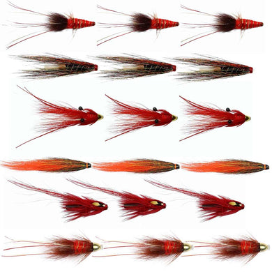 Autumn Salmon Flies For The Dee - Collection