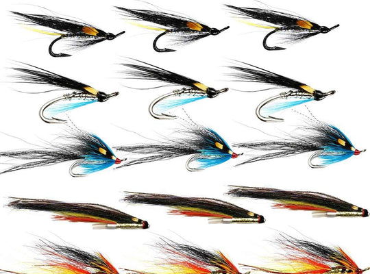 Summer Salmon Flies For The Dee - Collection