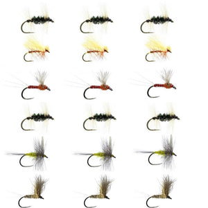 Derbyshire Wye Fly Selection Box 1 - Small Dries
