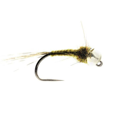 Dirty Olive Tungsten Nymph Barbless