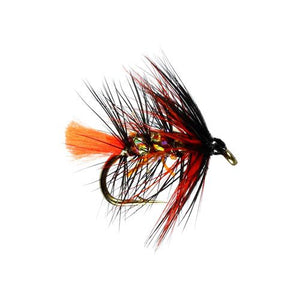 Doobry  Fluo Hackled Wet Fly (Size 12)