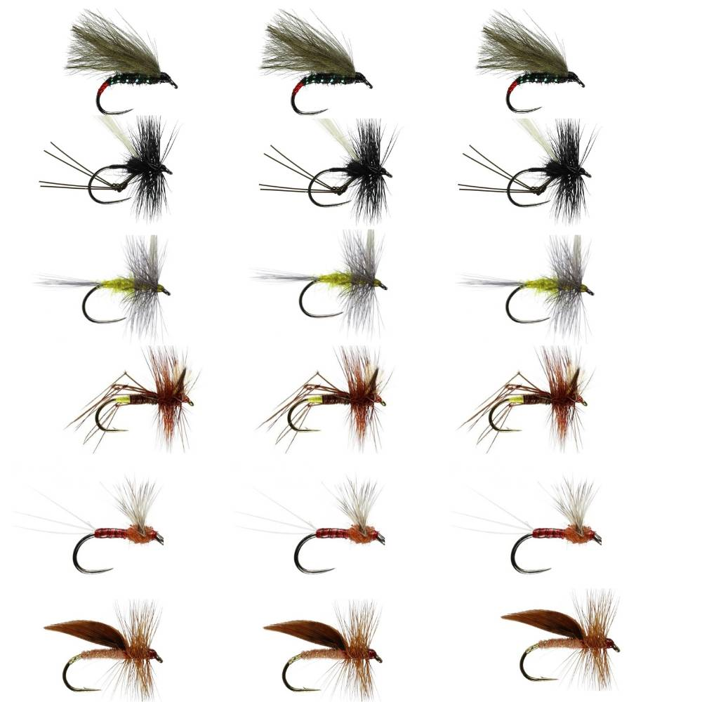 Driffield Beck Fly Selection Box 2 - Large Dries