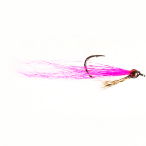 Drop shot minnow pink and white