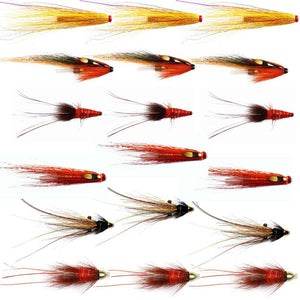 Autumn Salmon Flies For The Findhorn And Other Northern Rivers - Collection