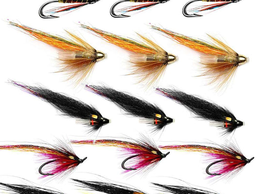 Summer Salmon Flies For The Findhorn And Northern Rivers - Collection