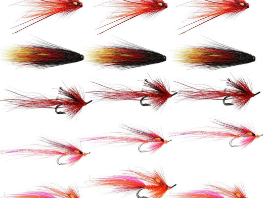 Autumn Salmon Flies 2 - Collection