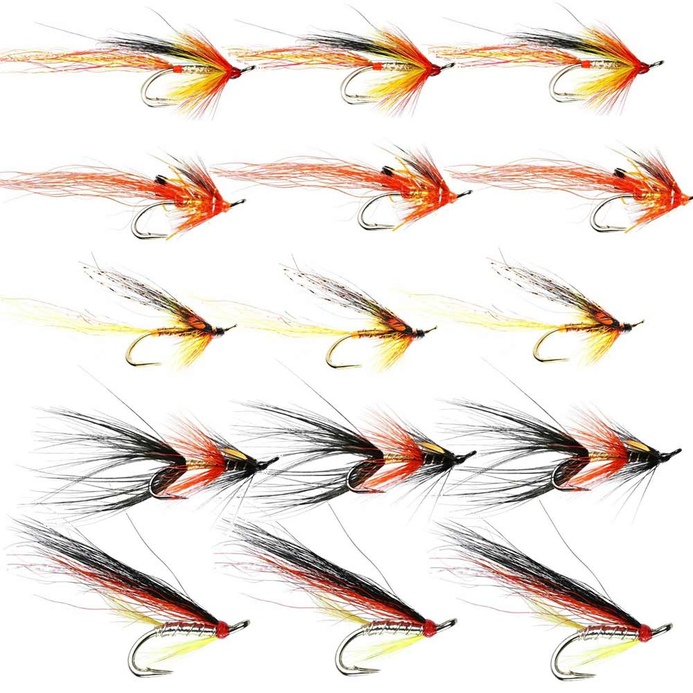 Summer Salmon Flies 1 - Collection