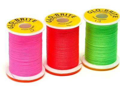 Glo-Brite Floss Selection 25 Yard 16 Spools