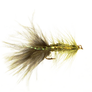 Gold Head Bugger Olive (Size 8)