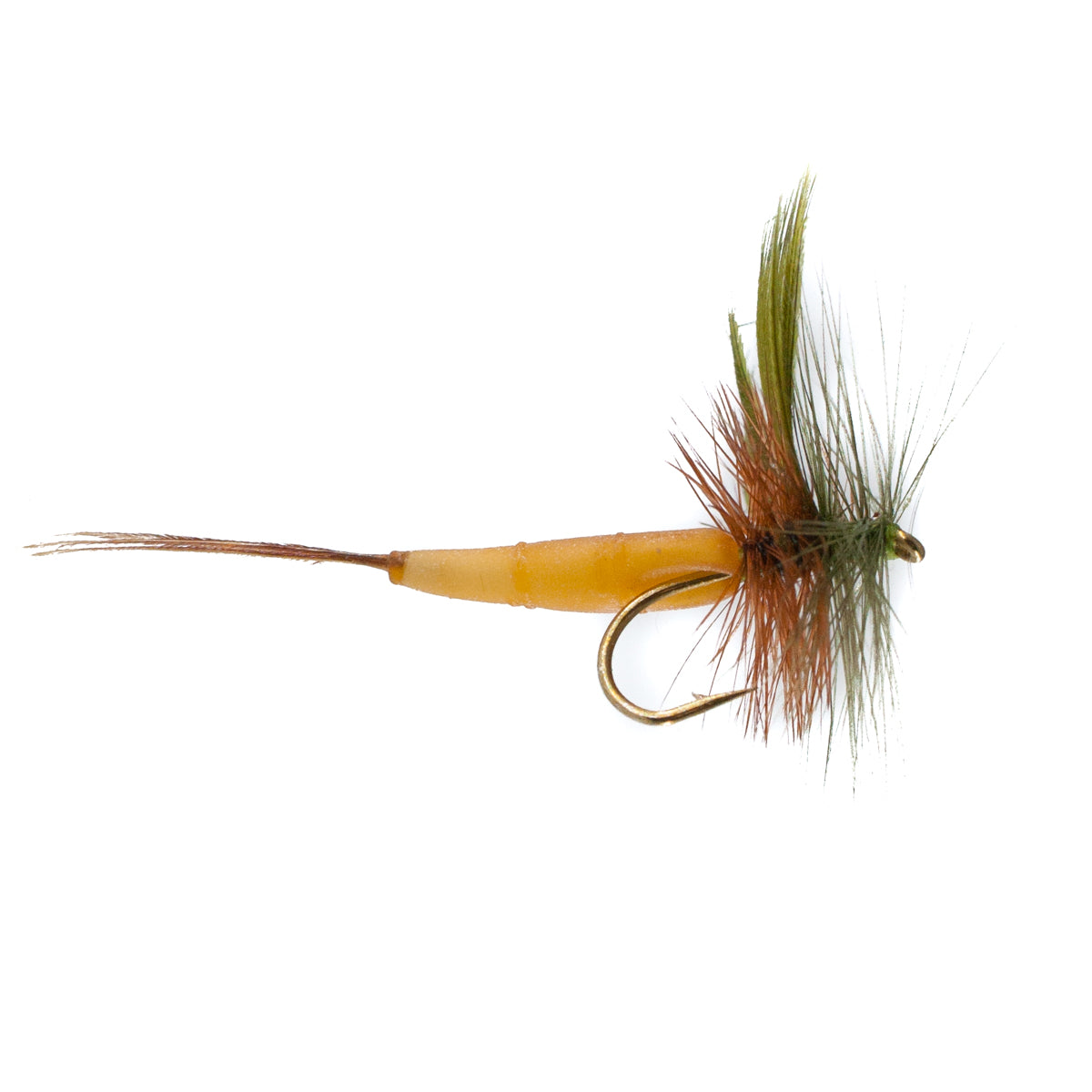 Detached Mayfly Green Drake (Size 12)