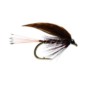 Grouse And Claret Winged Wet Fly