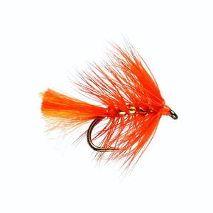 Oakham Orange  Hackled Wet Fly (Size 12)