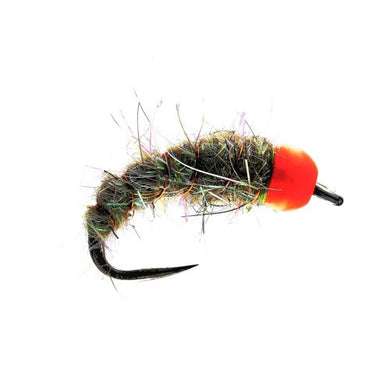 Orange TB  Hares Lug Barbless Nymph Barbless (Size 12)