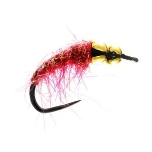 Pink Bomb Tungsten Nymph