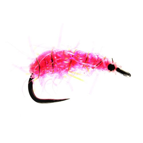 Pink Shrimper Barbless (weighted)