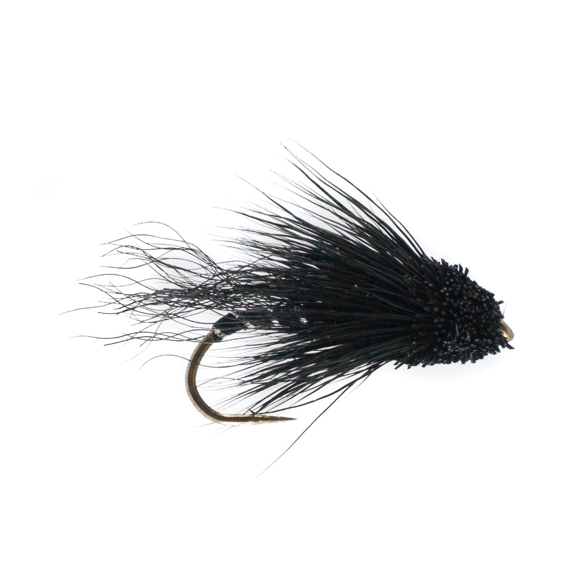 Muddler Minnow All Black (Size 6)