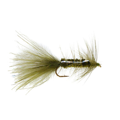 Woolly Bugger Olive (Size 10)