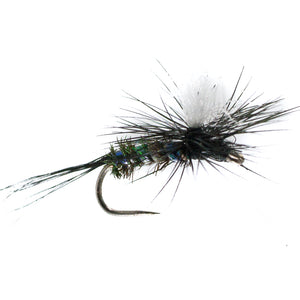 Barbless Skinny Black Gnat (16)