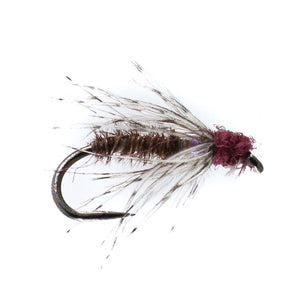 Barbless Moorland Spider Size 16